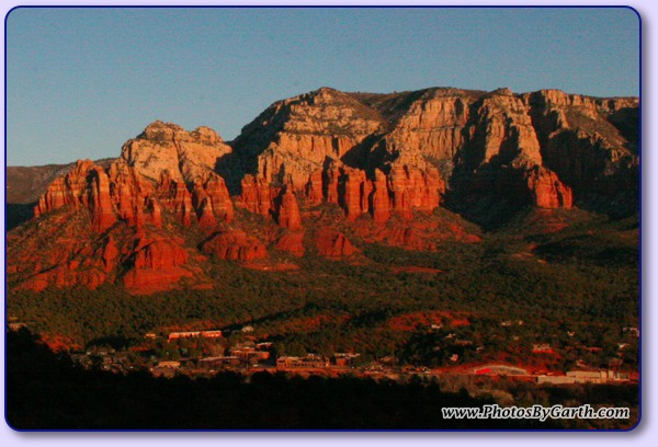 View from Airport Mesa in Sedona, AZ