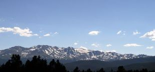 Rocky Mountains from Leadville