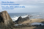 Seal Rocks, OR with Quote