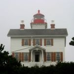 Yaquina Bay Lighthouse near Newport, OR