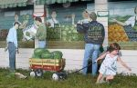Produce Stand Mural