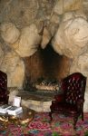 Huge Rock Fireplace