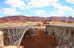 Navaho Bridge over Colorado River just North of the Grand Canyon