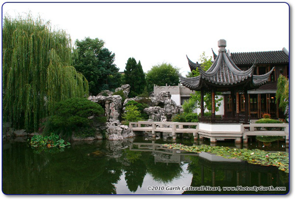 Chinese Garden in Portland, Oregon