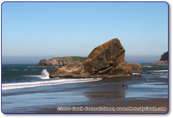 Rocks along the Oregon coast near Gold Beach 3