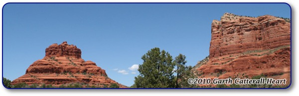 Another view of Bell Rock and Courthouse Butte