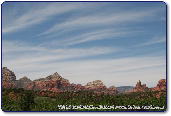 Red Rocks of Sedona from Hwy 179