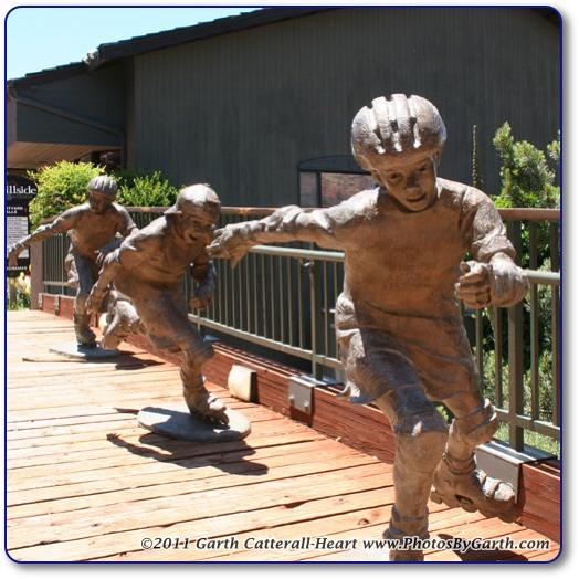 Bronze Skaters
