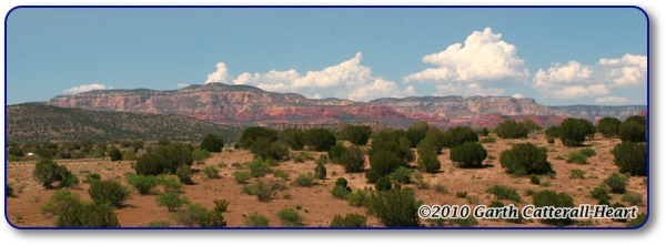 Sedona, AZ from the West