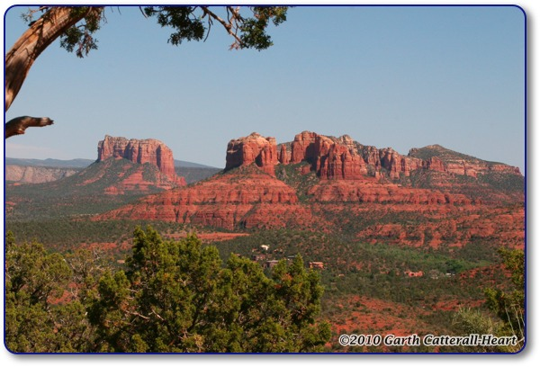 Courthouse & Cathedral Rocks, Sedona, AZ