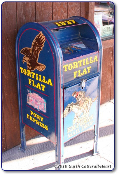 Tortilla Flat Mail Box