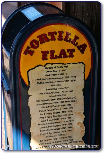 Tortilla Flat History